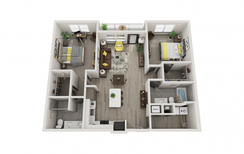 The Sophie | Available 1 bedroom 1 bathroom or 2 bedroom 2 ...